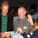 2005 Brugge, overhandiging gedicht Tom Boonen