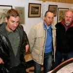 2007 Roeselare, Wielermuseum (met Frank Vandenbroucke en  Palmiro Masciarelli)