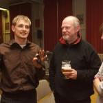 2007 Roeselare, uitreiking Superprestige (met Bart Wellens en Bieke Cornillie)