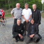 2010 Bosberg, het eerste GeelZucht-team (met Willie Verhegghe, Frank Pollet, Paul Rigolle en Norbert De Beule)