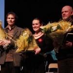 2010 Poëzieprijs Meise (winnaar Erwin Steyaert, 3de Ann Van Dessel, 2de Patrick Cornillie)