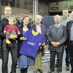 2011 Kortrijk, voorstelling boek Marcel Kint (met de familie Kint)