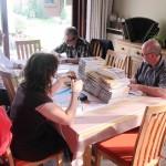 2011 Lichtervelde, GeelZucht signeert GeelZucht II (met Sylvie Marie, Norbert De Beule en Paul Rigolle)