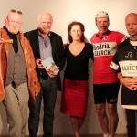 2012 Roeselare, voorstelling 'De Cups van Hanka Kupfernagel' (met Bert Bevers, Yella Arnouts, Karel Declercq en Frank Pollet)