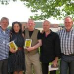 2012 Stekene, voorstelling GeelZucht III (met Willie Verhegghe, Yella Arnouts, Bert Bevers en Frank Pollet)