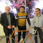 2012 Torhout, opening expo 'Koers!' (met lookalike en fotograaf Patrick Verhoest)