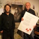 2014, Lichtervelde, 'Zwijg mij van de oevers van de IJzer' (met Maarten Wydooghe)