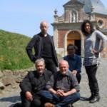 Met Paul Rigolle, Frank Pollet, Norbert Debeule en Sylvie Marie - Geraardsbergen, voorstelling GeelZucht II, 2011